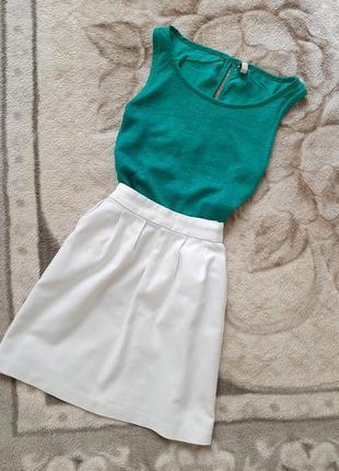Костюм, юбка, блуза, блузка