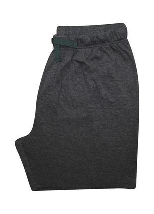 Мужские шорты серые трикотаж мягкие george xl l