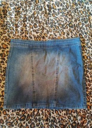 Базова джинсова спідниця
