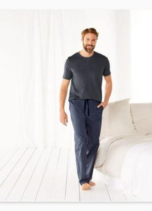 Мужская пижама футболка и штаны livergy
