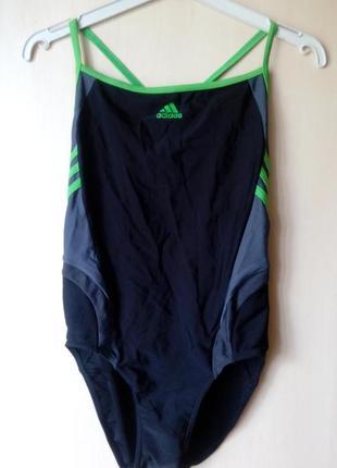 🍀спортивный сдельный купальник для плавания adidas