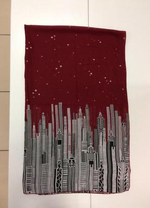 Легкий шарф бренда yumi (1801)