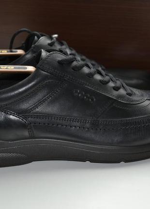 Ecco 44р кроссовки ботинки полуботинки кожаные. оригинал