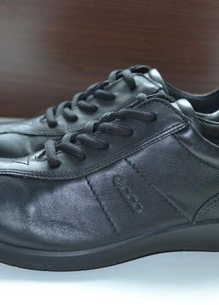 Ecco 37р кроссовки ботинки кожаные полуботинки. сток