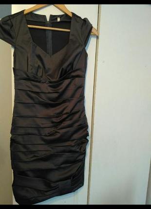 Атласне сукня