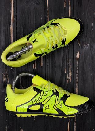 Футбольные бампы сороконожки копы adidas размер 38