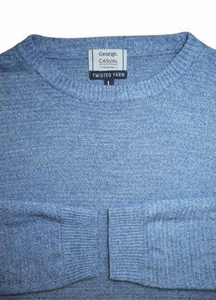 Мужская кофта мягкая george casual l xl