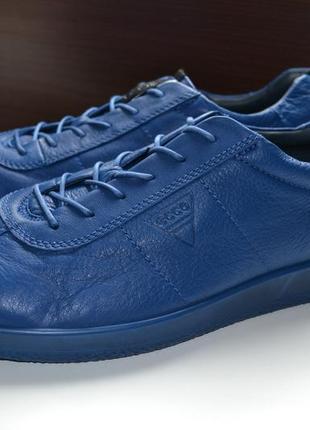 Ecco 44р кроссовки ботинки полуботинки кожаные. оригинал. сток