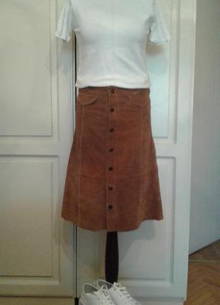 Продам юбку, натуральный замш