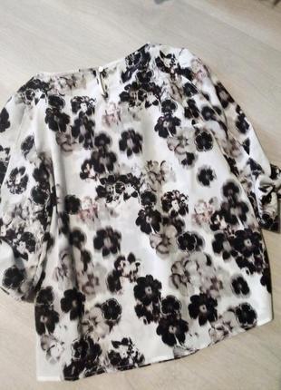 Брендовая блузка принт6 фото