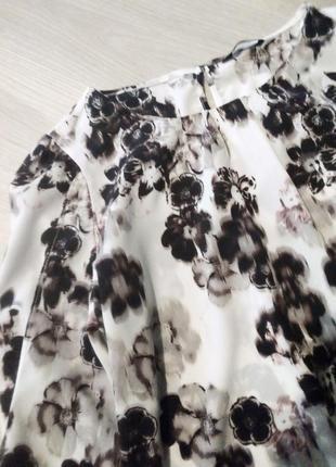 Брендовая блузка принт8 фото