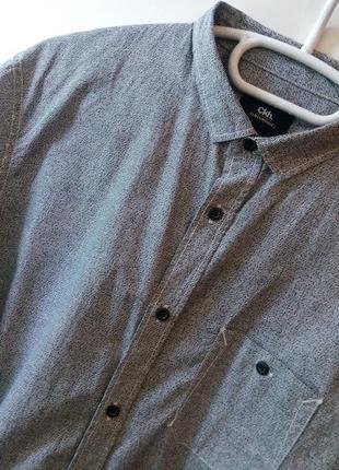 Cтильная и оригинальная мужская рубашка в принт от бренда «clockhouse»