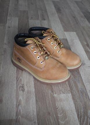 Шикарні черевички timberland шкіра ботинки кожа черевики