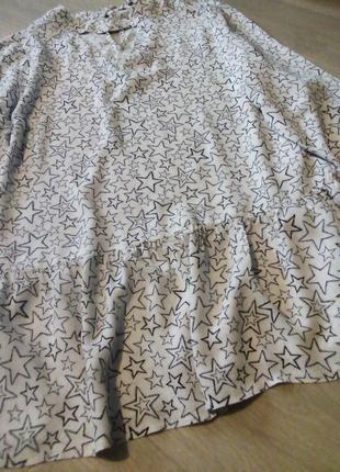 Блузка вискоза звезды4 фото
