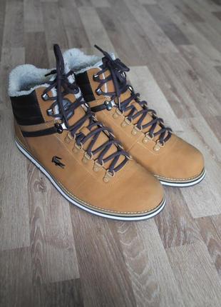 Черевики lacoste оригінал ботинки