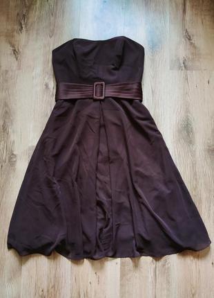Красивое миди-платье