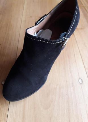 Туфли женские замша