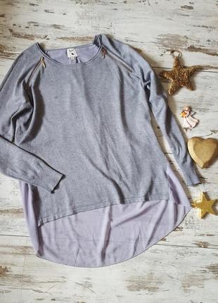 Легкий свитер кофта блузка шифон