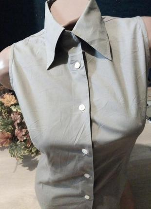 Рубашка без рукав  вторая вещь скидка 25%2 фото