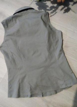 Рубашка без рукав  вторая вещь скидка 25%7 фото