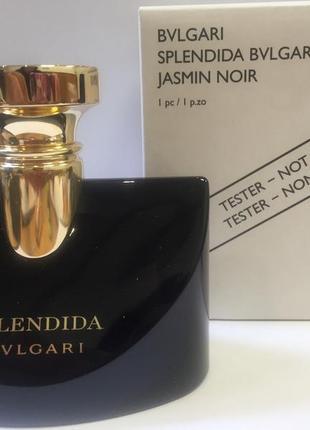 Bvlgari splendida jasmin noir парфюмированная вода тестер с крышечкой 100 мл оригинал