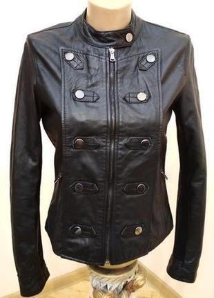 Шкіряна куртка morgan