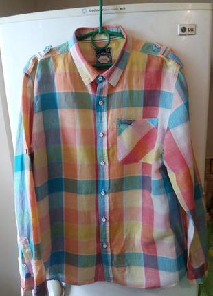 Стильная мужская рубашка от бренда «cedarwood state»