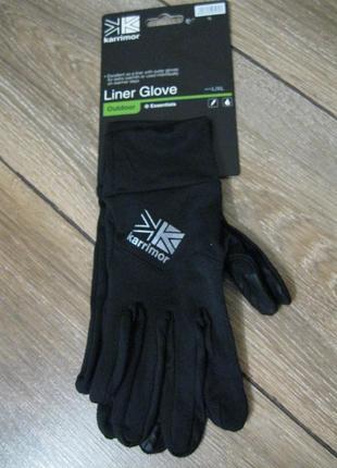 Беговые перчатки  karrimor
