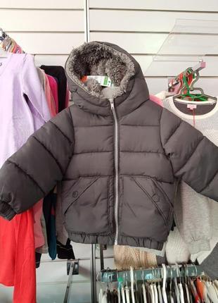 Куртка теплач на мальчика 2 года
