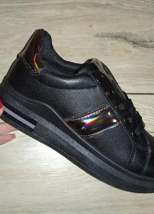 Криперы женские кеды кроссовки слипоны черные
