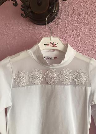 Блуза для девочки на рост 128,140