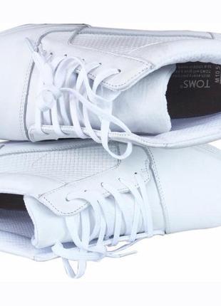 Кроссовки toms leather casual sneakers 43 оригинал
