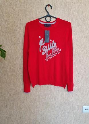 Красивый, яркий свитер, джемпер marks&spencer