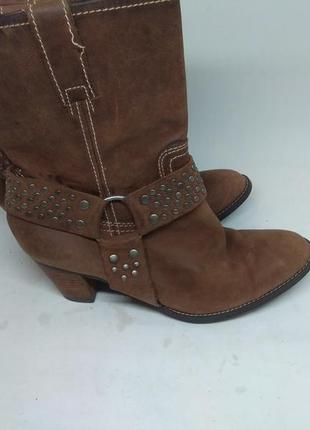 Кожаные ботинки 36 размер