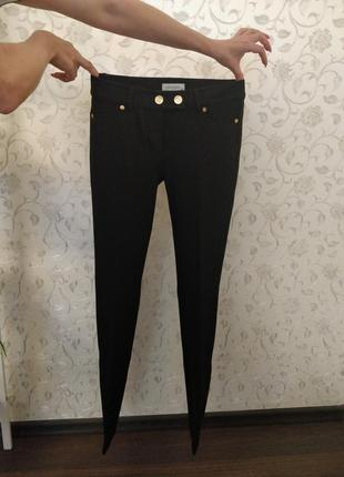 Брюки / штаны / джинсы 38 со стрелочкой под высокий каблук