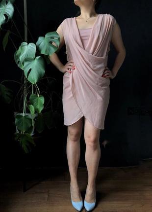Платье длины мини naf naf