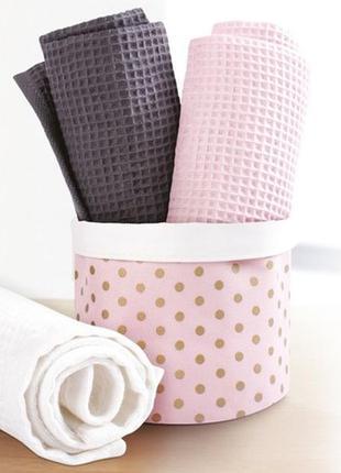 Набор из трех полотенец нежные очаровательные полотенца для вашей семьи и ваших гостей