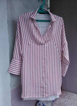 Очень крутое платье-рубашка zara