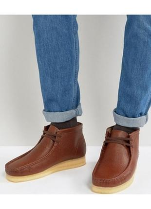 Кожаные ботинки 35 размер