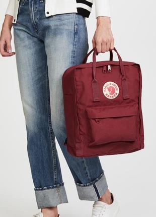 Стильный женский рюкзак fj. kanken mini2 фото