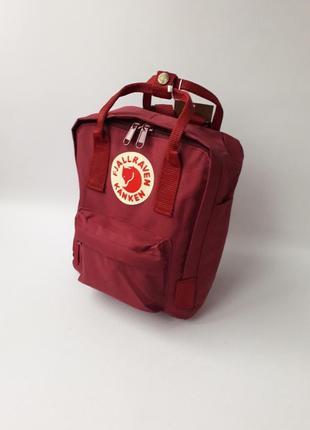 Стильный женский рюкзак fj. kanken mini4 фото
