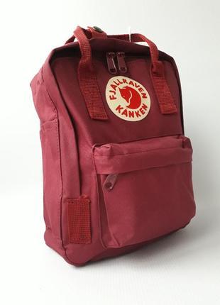 Стильный женский рюкзак fj. kanken mini8 фото