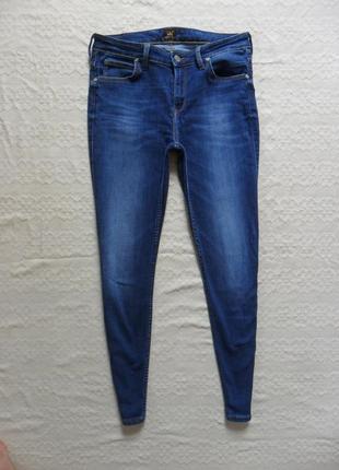 Брендовые джинсы скинни lee, 12 размер.