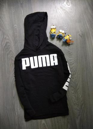 11-12л puma реглан свитшот худи капюшонка кофта