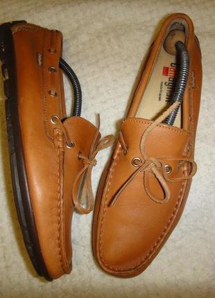 Оригинальные кожаные мокасины callaghan испания