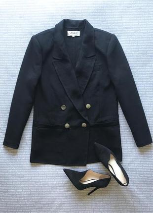 Пиджак жакет блейзер с плечиками оверсайз удлиненный купить цена