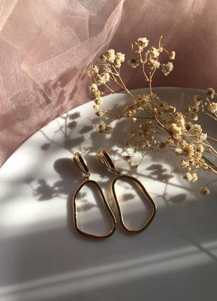 Шикарні сережки