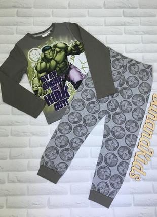 Пижамка для мальчика marvel avengers