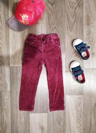 Крутые вельветовые джинсы