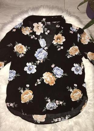 Блуза в цветочный принт от h&m